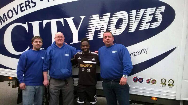 swansea city moving with city moves - moving in swansea - removals in swansea - nathan dyer - house removals - moving in swansea