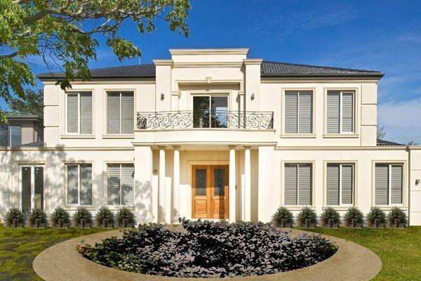 Custom Homes facade ivanhoe