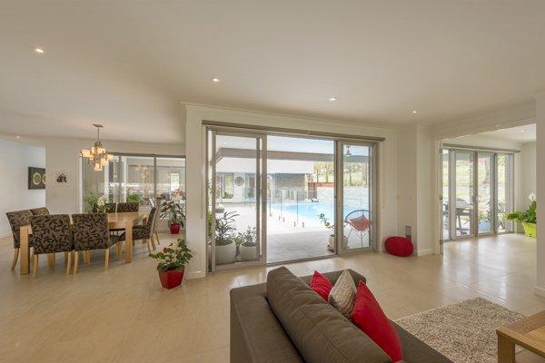 Custom Home Plenty living room