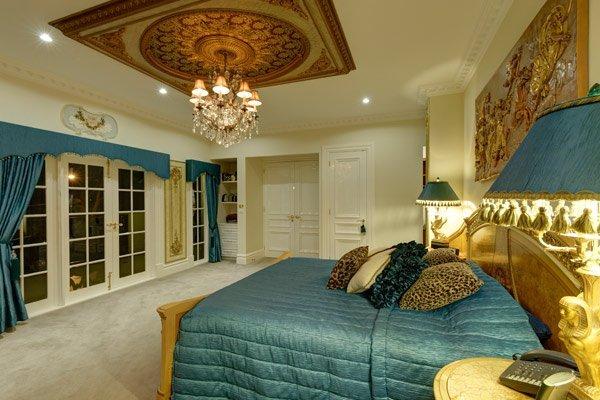 Custom Home Strathmore master bedroom