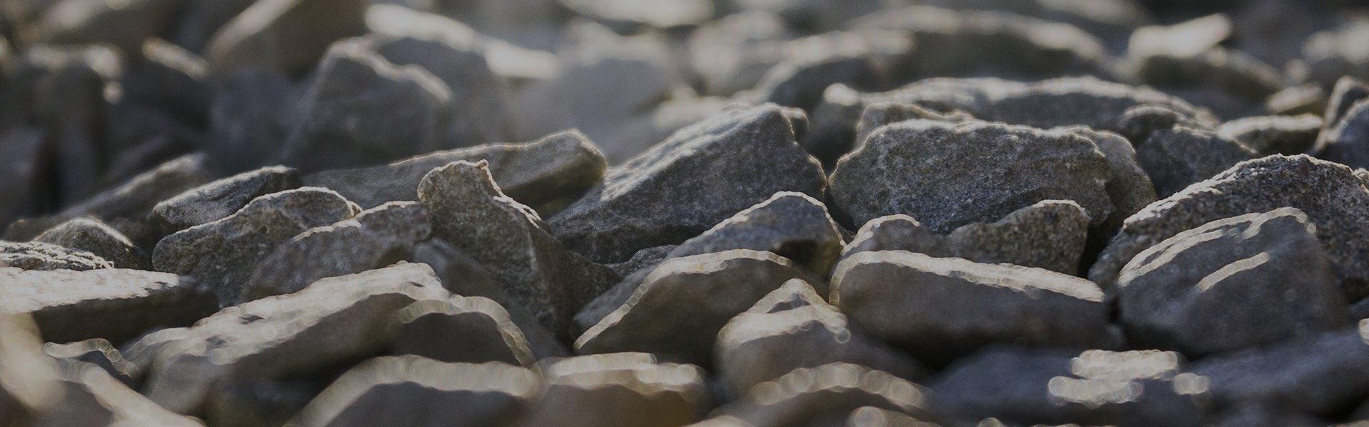 pieces of stones