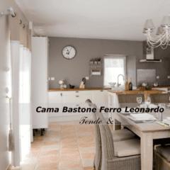 Cama BAstone Ferro Leonardo