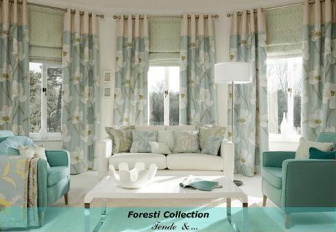 Foresti Collection: tutta la casa parla di te e della tua personalità...scegli i tessuti che meglio ti rappresentano...