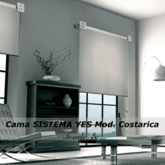 SISTEMA YES mod. Costarica Supporto conborchia Zanzibar