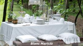 tovaglie Blanc Mariclò, tessuti Blanc Mariclò