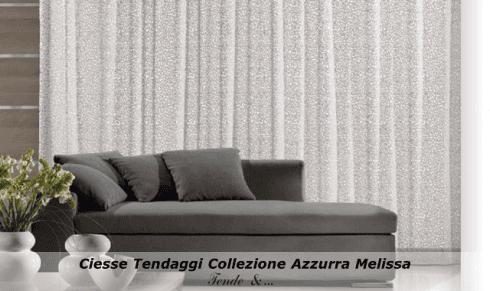 Ciesse tendaggi Collezione Azzurra modello Melissa