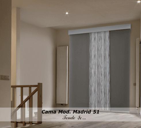 Cama Tende moderne modello Madrid 51
