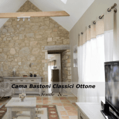 Cama Bastoni Classici Ottoni