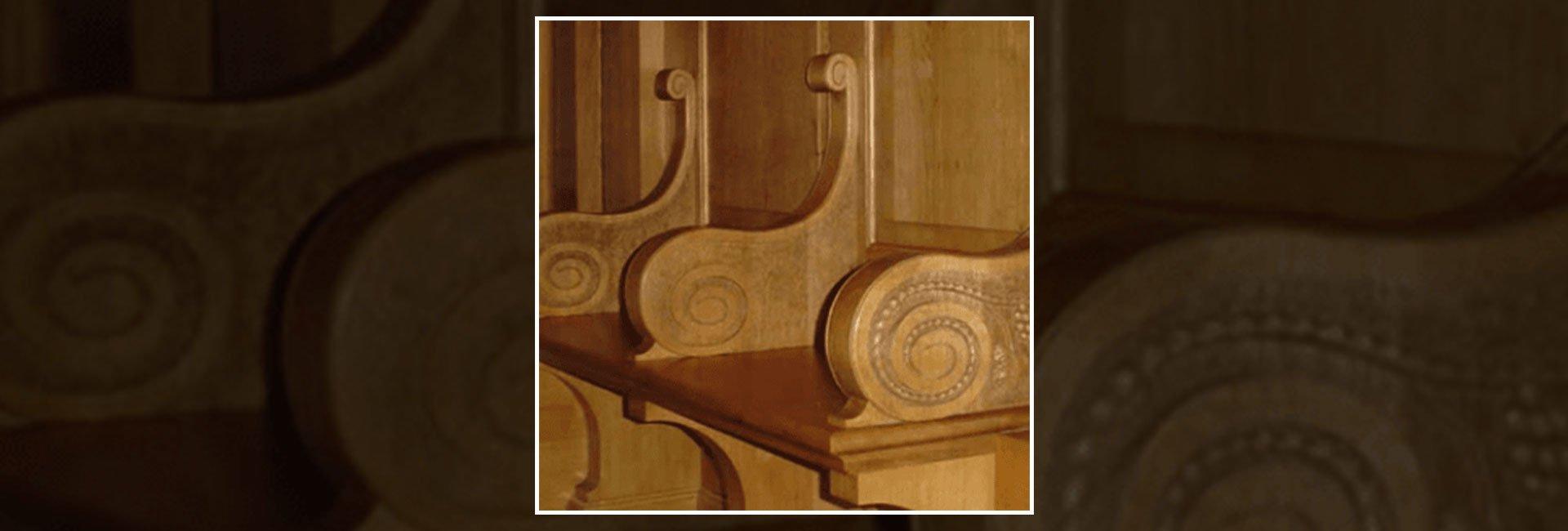 antique wooden piece