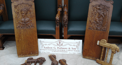 restored antique items