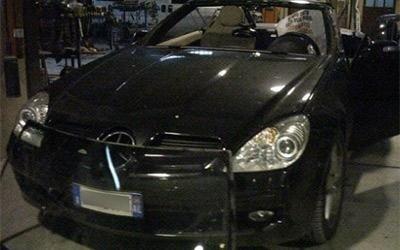 Riparazione paraurti Mercedes Coupè