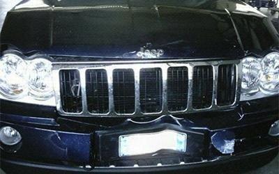 Riparazione paraurti Jeep Cherokee