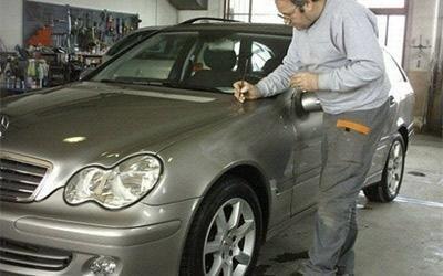 Lucidatura carrozzeria Mercedes