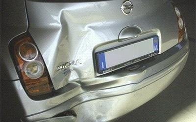 Riparazione paraurti Nissan Micra