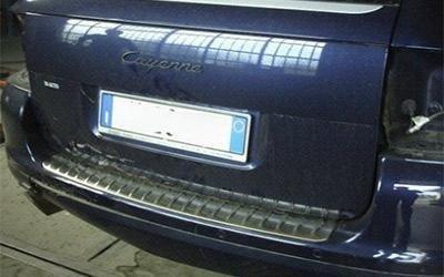 Lucidature carrozzeria Porsche Cayenne
