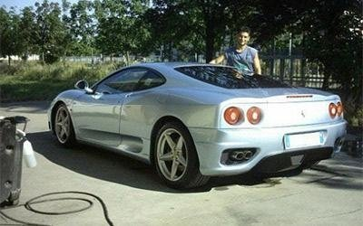 Verniciatura carrozzeria Ferrari