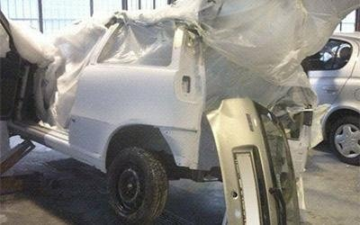 Riverniciatura completa carrozzeria utilitaria