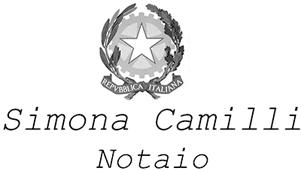 STUDIO NOTARILE SIMONA CAMILLI - LOGO