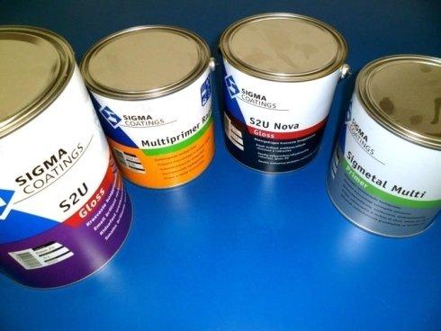 materiale per pittura, colori a campione, vernici speciali