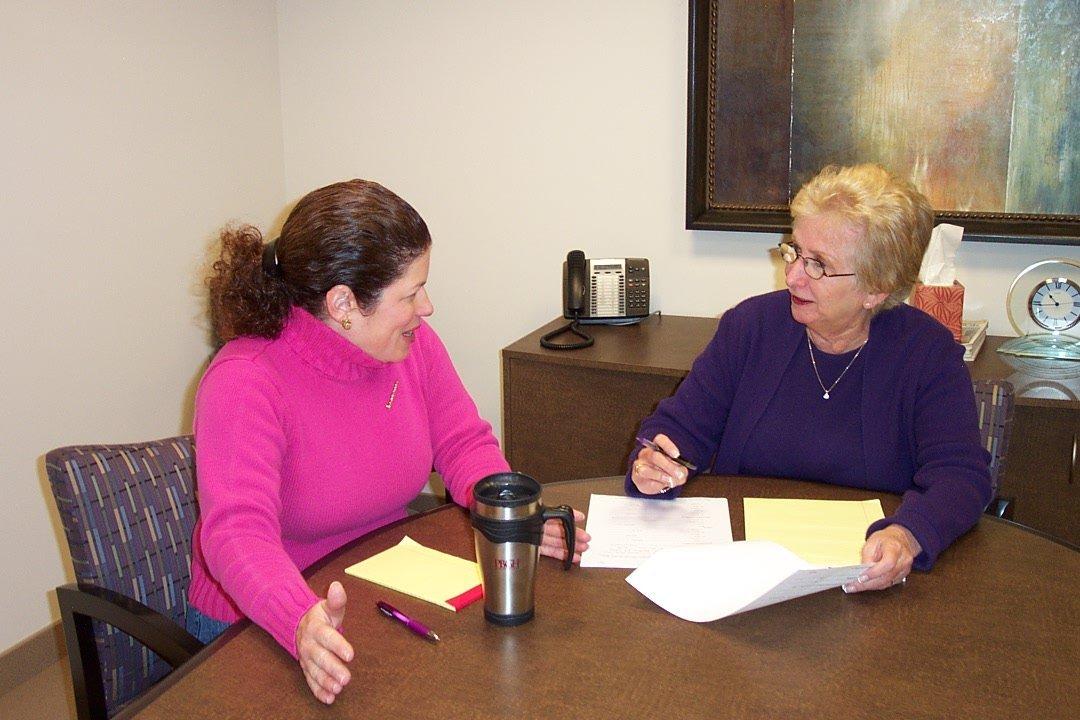Susan Pollack & Client