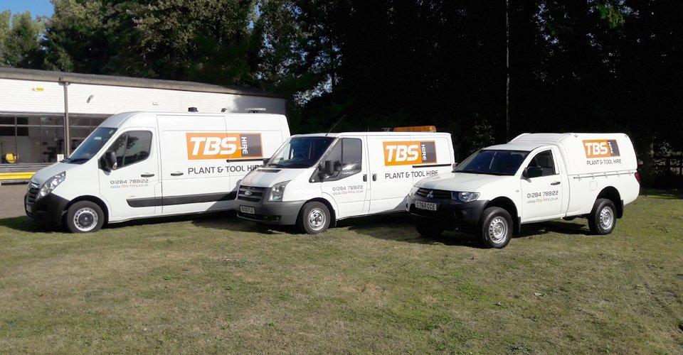 TBS Hire vehicles