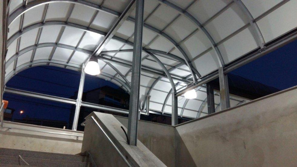 copertura  stazione ferroviaria