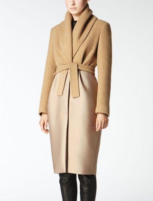 MAX MARA - Cappotto in puro cammello