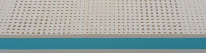 dettaglio interno materasso Polilatex