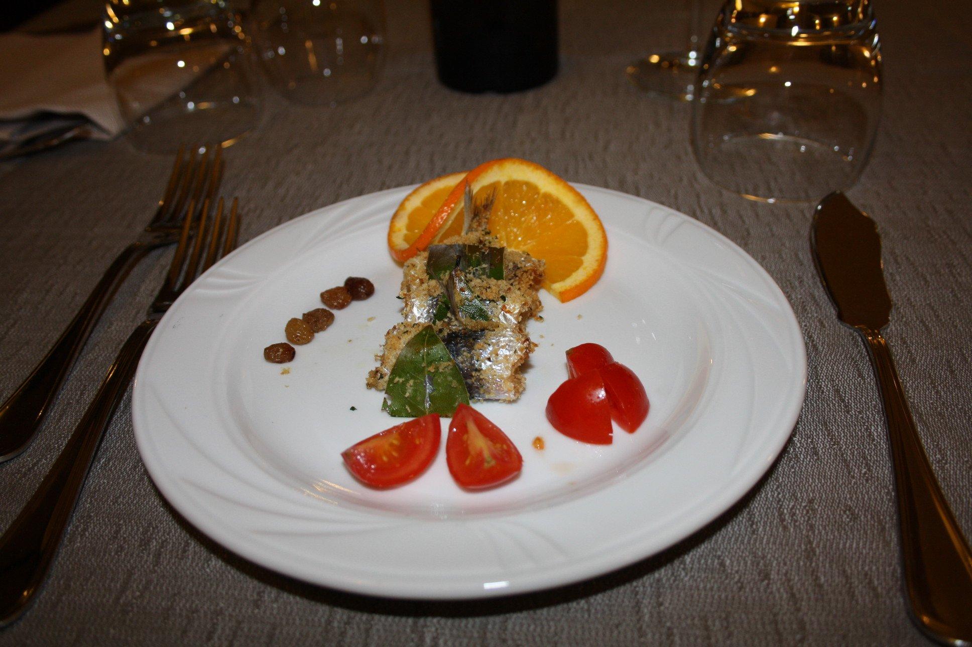 Cuscus con arancia e pomodori a