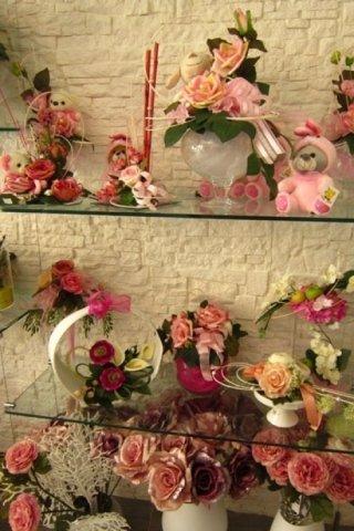 fiori in seta