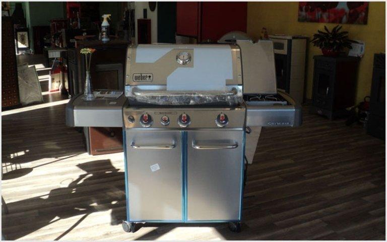 barbecue weber panna e argento