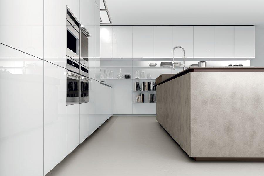 Vista della cucina moderna