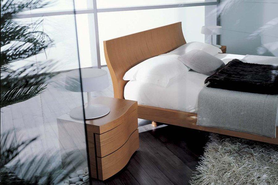 camera da letto con vetro
