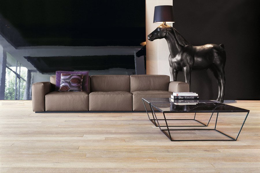 divano marrone 3 posti