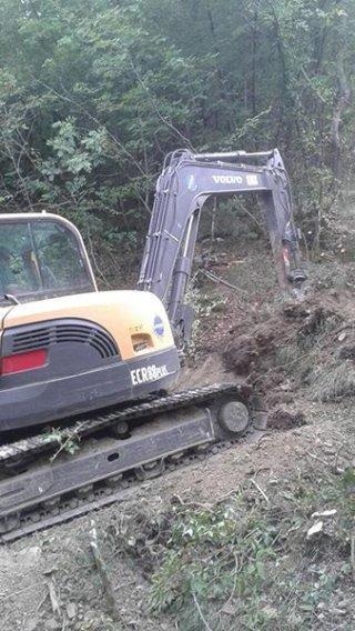 lavori di movimentazione terra