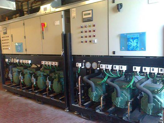 installazione di impianti di condizionamento con pompa di calore, condizionatori d'aria, congelatori e attrezzature frigorifere per comunità,