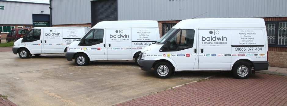 Baldwin Domestic Appliances - Serving Oxford, Banbury, Witney, Didcot & other Oxfordshire areas