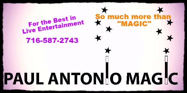 Paul Antonio Magic 716-587-2743