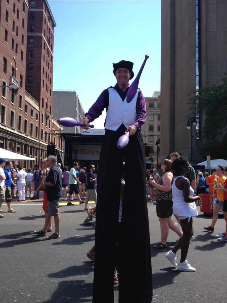 Paul Antonio Stilt Walker
