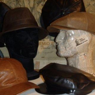 cappelli in pelle