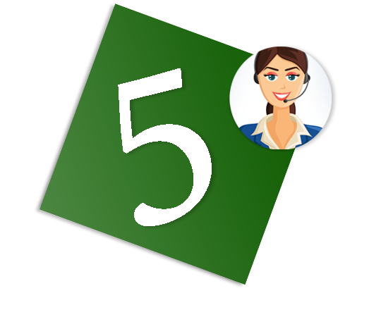 5.  AnswerOne's message delivery services