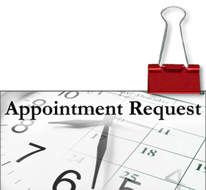 Scheduling your appointments