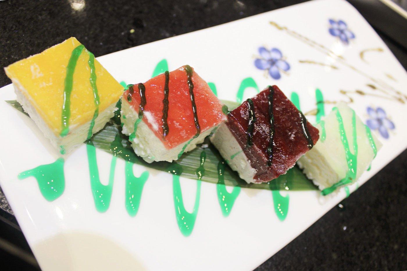 sushi dessert giapponese