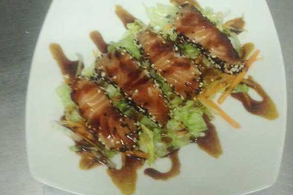 Piatto di sashimi
