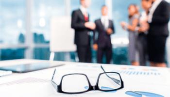 occhiali, bilancio, consulenza, riunione, azienda