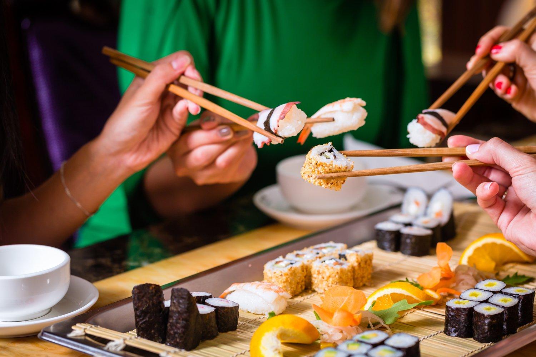Cena a base di sushi a Brescia