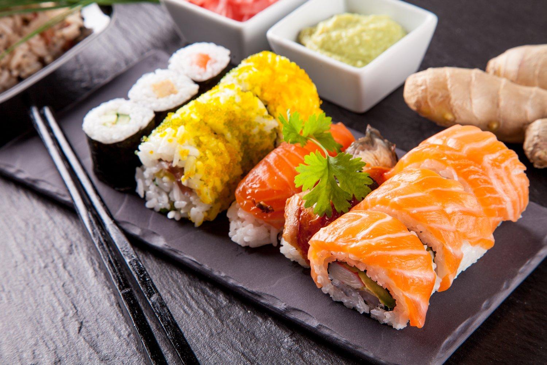 Cena di sushi a Brescia