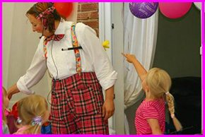 Children's Parties - Harrow, Middlesex - Naima's Magical Parties - Puppet Shows
