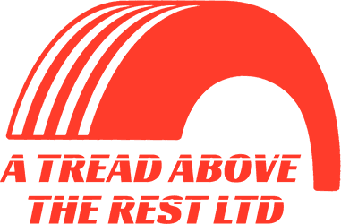 A tread above the rest logo