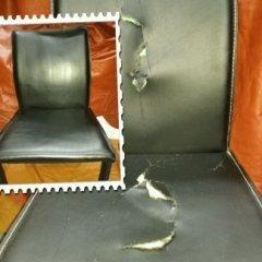 rivestimento sedia cuoio